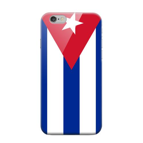 Geeks Designer Line (GDL) Apple iPhone 6 Matte Hard Back Cover - Cuba