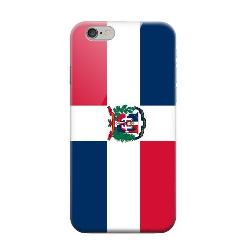 Geeks Designer Line (GDL) Apple iPhone 6 Matte Hard Back Cover - Dominican Republic