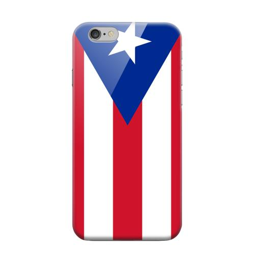 Geeks Designer Line (GDL) Apple iPhone 6 Matte Hard Back Cover - Puerto Rico
