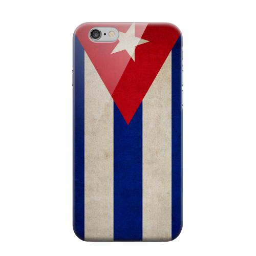 Geeks Designer Line (GDL) Apple iPhone 6 Matte Hard Back Cover - Grunge Cuba