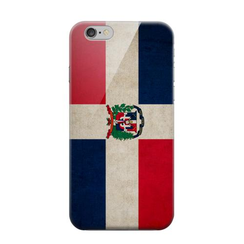 Geeks Designer Line (GDL) Apple iPhone 6 Matte Hard Back Cover - Grunge Dominican Republic