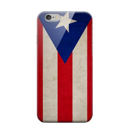 Geeks Designer Line (GDL) Apple iPhone 6 Matte Hard Back Cover - Grunge Puerto Rico