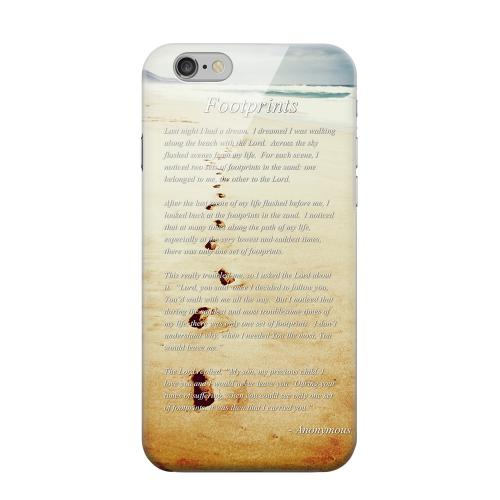 Geeks Designer Line (GDL) Apple iPhone 6 Matte Hard Back Cover - Footprints
