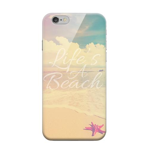 Geeks Designer Line (GDL) Apple iPhone 6 Matte Hard Back Cover - Life's A Beach