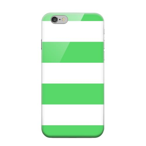 Geeks Designer Line (GDL) Apple iPhone 6 Matte Hard Back Cover - Big Green