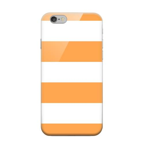 Geeks Designer Line (GDL) Apple iPhone 6 Matte Hard Back Cover - Big Orange