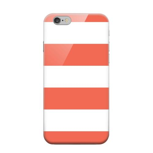 Geeks Designer Line (GDL) Apple iPhone 6 Matte Hard Back Cover - Big Red
