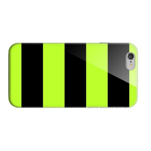 Geeks Designer Line (GDL) Apple iPhone 6 Matte Hard Back Cover - Colorway Black/ Flo Green