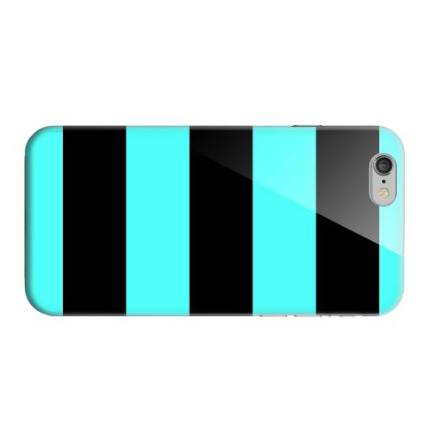 Geeks Designer Line (GDL) Apple iPhone 6 Matte Hard Back Cover - Colorway Black/ Teal