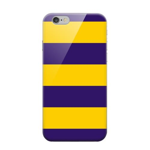 Geeks Designer Line (GDL) Apple iPhone 6 Matte Hard Back Cover - Colorway Purple/ Gold