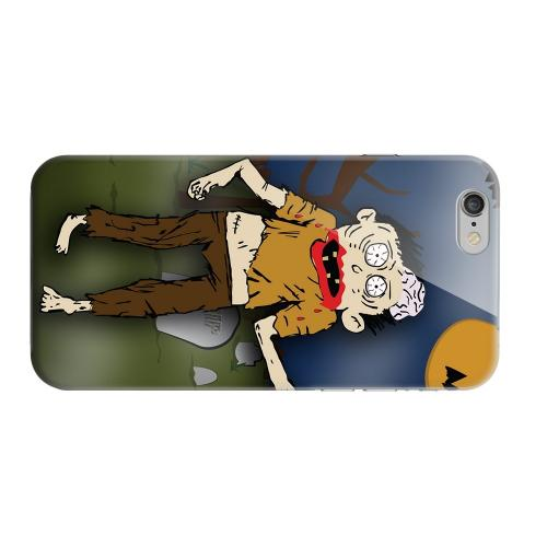 Geeks Designer Line (GDL) Apple iPhone 6 Matte Hard Back Cover - Zombie in Graveyard