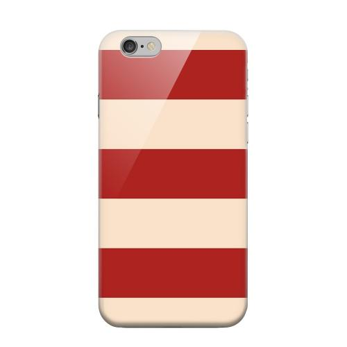 Geeks Designer Line (GDL) Apple iPhone 6 Matte Hard Back Cover - Linen Poppy Red