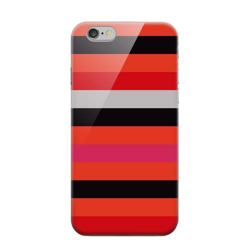 Geeks Designer Line (GDL) Apple iPhone 6 Matte Hard Back Cover - Muted Spade Stripes