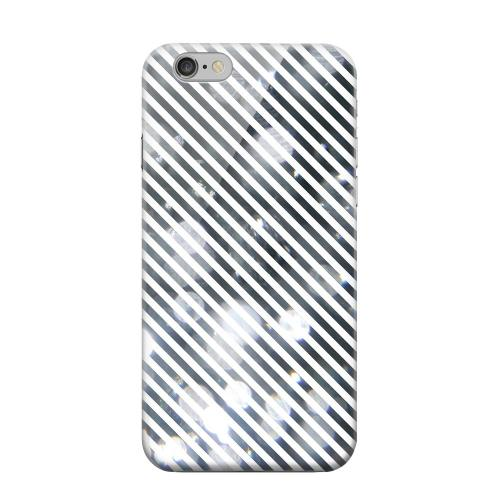 Geeks Designer Line (GDL) Apple iPhone 6 Matte Hard Back Cover - Thin Shimmer Diagonal