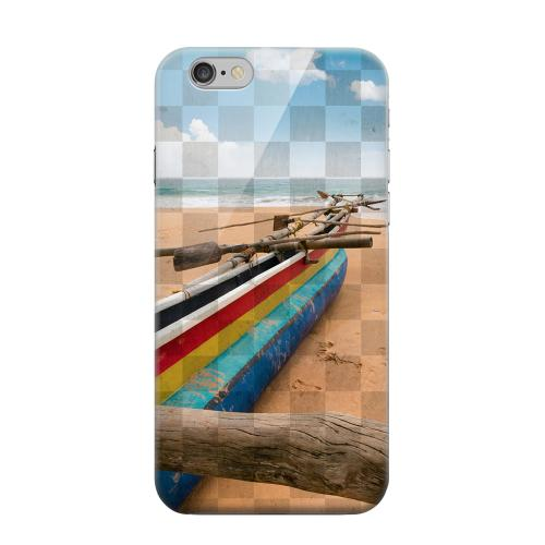 Geeks Designer Line (GDL) Apple iPhone 6 Matte Hard Back Cover - Beach Bum
