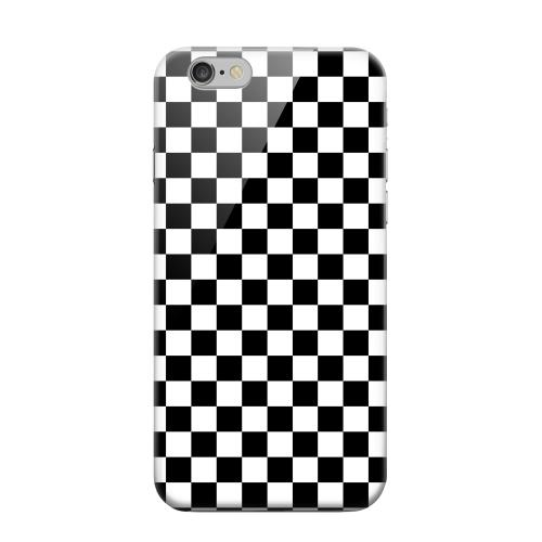 Geeks Designer Line (GDL) Apple iPhone 6 Matte Hard Back Cover - Black/ White