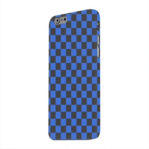 Geeks Designer Line (GDL) Apple iPhone 6 Matte Hard Back Cover - Blue/ Black