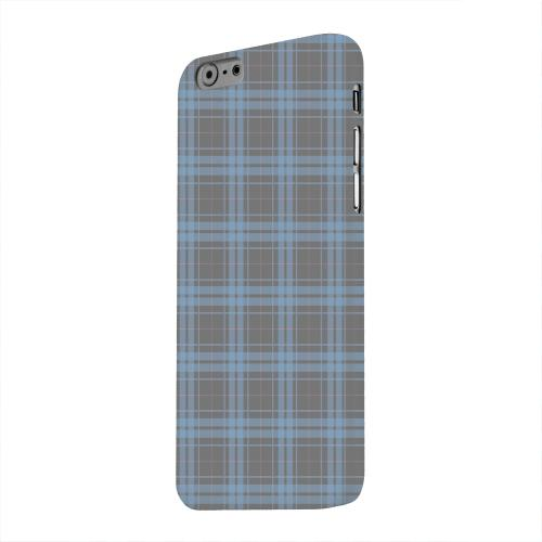 Geeks Designer Line (GDL) Apple iPhone 6 Matte Hard Back Cover - Blue/ Gray/ Pink Plaid
