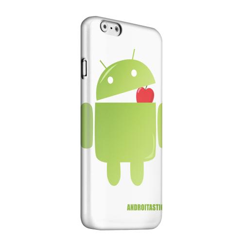 Geeks Designer Line (GDL) Apple iPhone 6 Matte Hard Back Cover - Robot Versus Apple