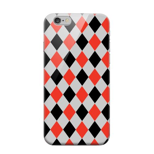 Geeks Designer Line (GDL) Apple iPhone 6 Matte Hard Back Cover - Charlatan Diamonds