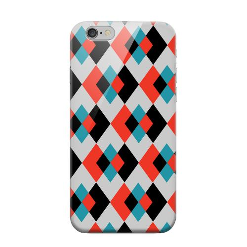 Geeks Designer Line (GDL) Apple iPhone 6 Matte Hard Back Cover - Double Diamond Vision