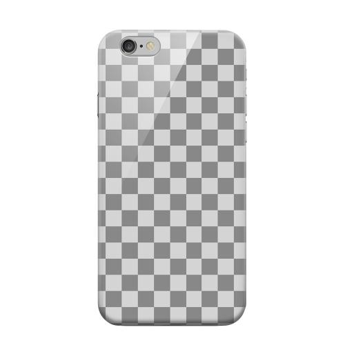 Geeks Designer Line (GDL) Apple iPhone 6 Matte Hard Back Cover - Gray/ Light Gray