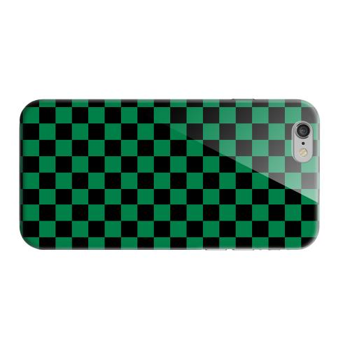 Geeks Designer Line (GDL) Apple iPhone 6 Matte Hard Back Cover - Green/ Black