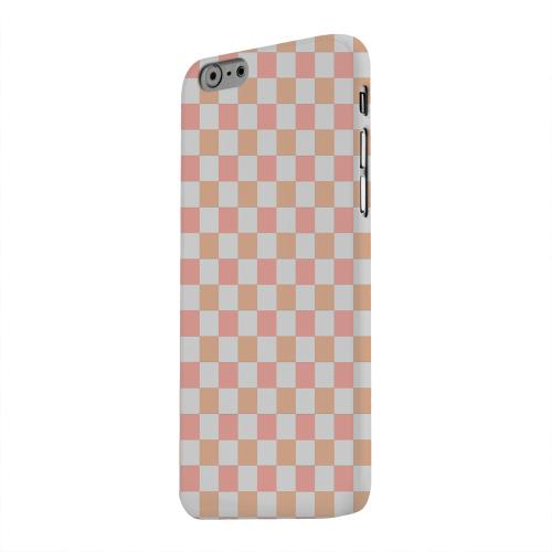 Geeks Designer Line (GDL) Apple iPhone 6 Matte Hard Back Cover - Pink/ Peach