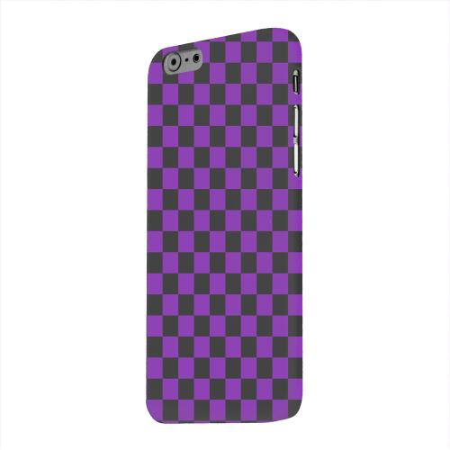 Geeks Designer Line (GDL) Apple iPhone 6 Matte Hard Back Cover - Purple/ Black