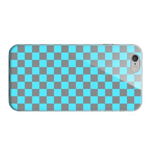 Geeks Designer Line (GDL) Apple iPhone 6 Matte Hard Back Cover - Teal/ Gray