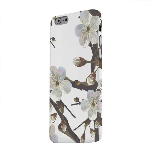 Geeks Designer Line (GDL) Apple iPhone 6 Matte Hard Back Cover - White Cherry Blossom