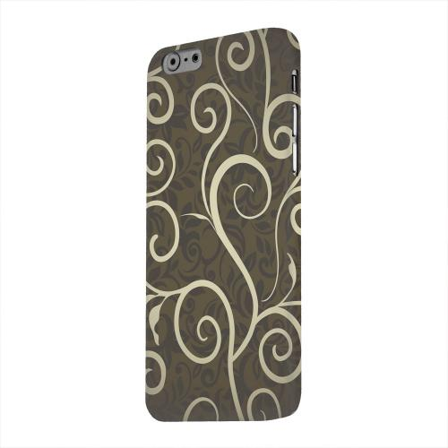 Geeks Designer Line (GDL) Apple iPhone 6 Matte Hard Back Cover - Elegant Dark Vines