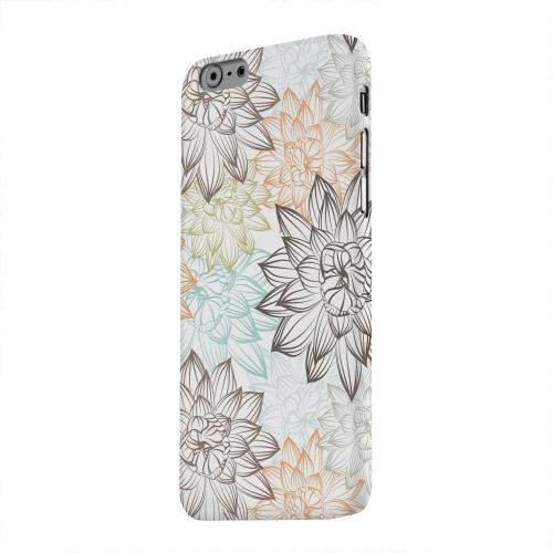 Geeks Designer Line (GDL) Apple iPhone 6 Matte Hard Back Cover - Floral Explosion