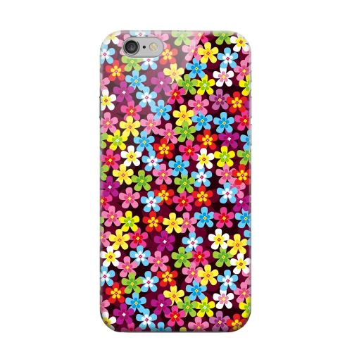 Geeks Designer Line (GDL) Apple iPhone 6 Matte Hard Back Cover - Multi-Colored Flowers
