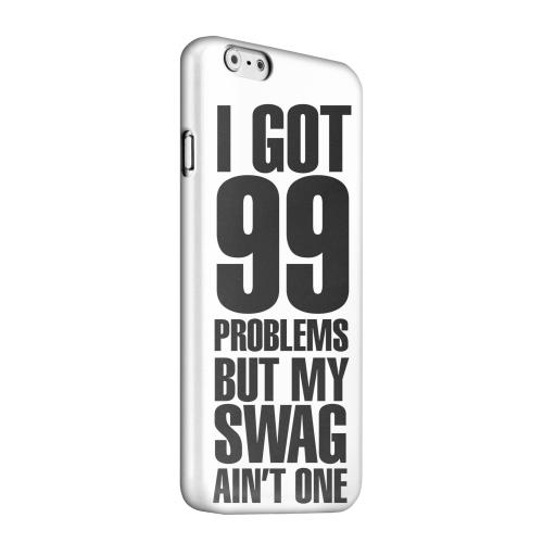 Geeks Designer Line (GDL) Apple iPhone 6 Matte Hard Back Cover - 99 Problems on White