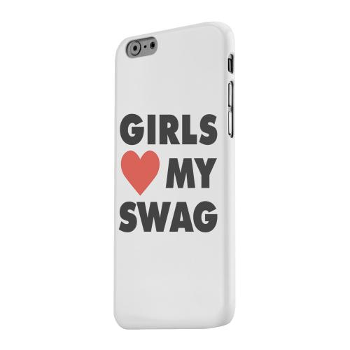 Geeks Designer Line (GDL) Apple iPhone 6 Matte Hard Back Cover - Girls Love My Swag