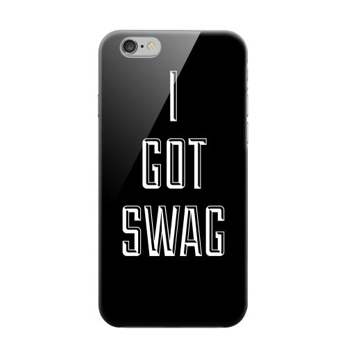 Geeks Designer Line (GDL) Apple iPhone 6 Matte Hard Back Cover - I Got Swag