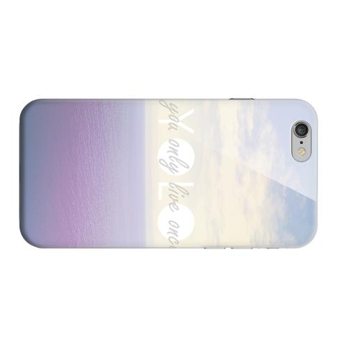 Geeks Designer Line (GDL) Apple iPhone 6 Matte Hard Back Cover - Filled YOLO