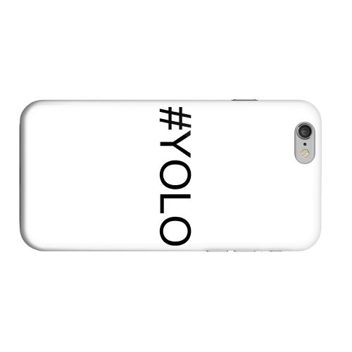 Geeks Designer Line (GDL) Apple iPhone 6 Matte Hard Back Cover - #YOLO