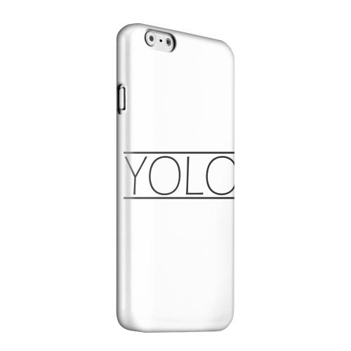 Geeks Designer Line (GDL) Apple iPhone 6 Matte Hard Back Cover - Modern YOLO
