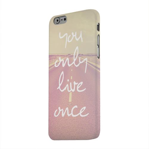 Geeks Designer Line (GDL) Apple iPhone 6 Matte Hard Back Cover - Open Road YOLO