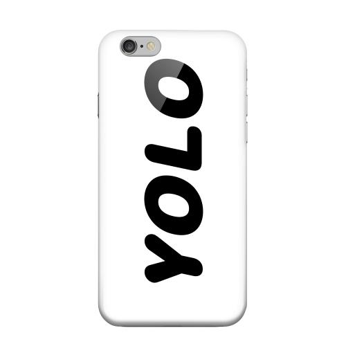 Geeks Designer Line (GDL) Apple iPhone 6 Matte Hard Back Cover - Rounded YOLO