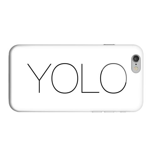 Geeks Designer Line (GDL) Apple iPhone 6 Matte Hard Back Cover - Thin YOLO