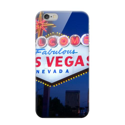 Geeks Designer Line (GDL) Apple iPhone 6 Matte Hard Back Cover - Las Vegas