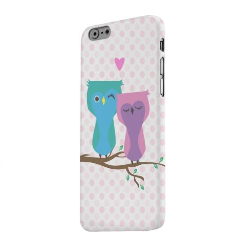 Geeks Designer Line (GDL) Apple iPhone 6 Matte Hard Back Cover - Owl Love You Forever