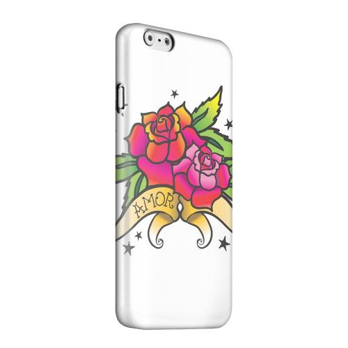 Geeks Designer Line (GDL) Apple iPhone 6 Matte Hard Back Cover - Amor Rose