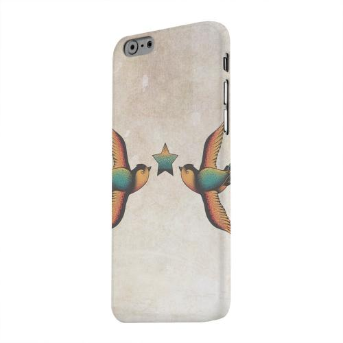 Geeks Designer Line (GDL) Apple iPhone 6 Matte Hard Back Cover - Dual Swallow Star