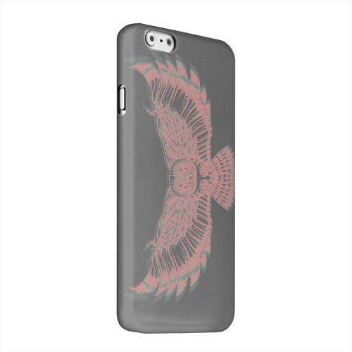 Geeks Designer Line (GDL) Apple iPhone 6 Matte Hard Back Cover - Flying Owl 3D-Esque