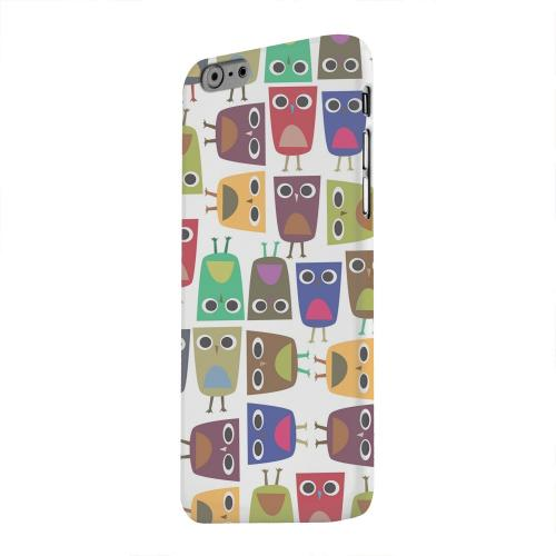 Geeks Designer Line (GDL) Apple iPhone 6 Matte Hard Back Cover - Quadrilateral Owl Configuration