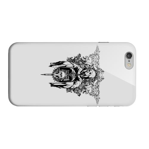 Geeks Designer Line (GDL) Apple iPhone 6 Matte Hard Back Cover - Inkfection on Gray